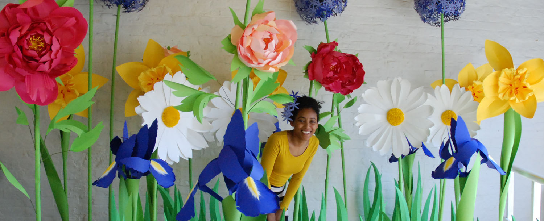 flower with Izi slide